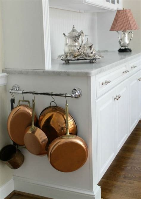 how do you hang kitchen cabinets how to organize pots and bans smart ways to organize 8440
