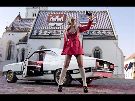 women muscle cars  car car city zagreb croatia