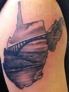West Virginia Tattoo Designs