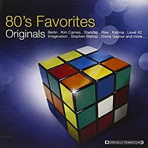 Where genres such as new wave, electronic music, rap and hip hop in particular flourished in this period. VARIOUS ARTISTS - Originals: 80s Favorites - Amazon.com Music