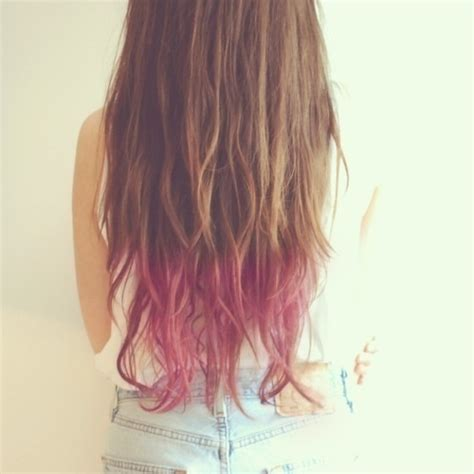 Brown Hair With Tips by Brown Hair With Pink Tips Defiantly Doing This On