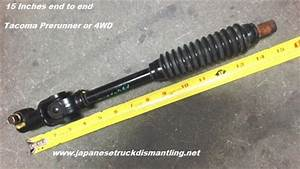 Toyota Tacoma Steering Shaft Lower Intermediate 45203