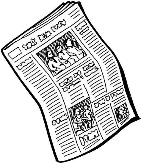 Newspaper Clipart Newspaper Clip Free Clipart Panda Free Clipart Images