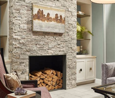 natural stone    choice   fireplace