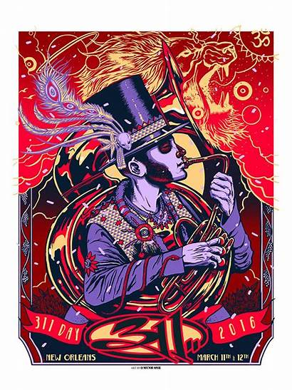 311 Poster Orleans Munk Posters Artist Edition
