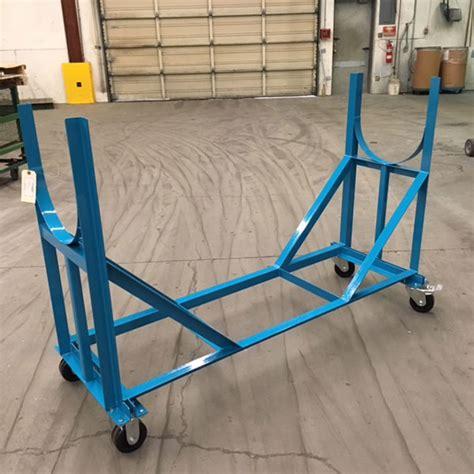pipe  tube cradle cart unitran manufacturers