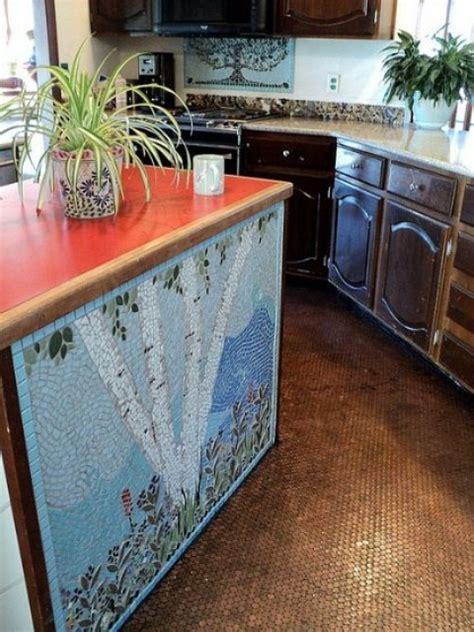 unique kitchen flooring 64 unique kitchen island designs digsdigs 3051