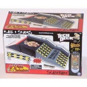 amazon com tech deck skate park rail and stairs world