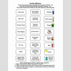 Image Result For Worksheets For Middle School On Acids And Bases  Science Education Chemistry