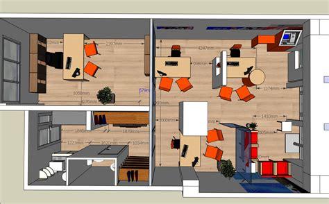 bureau plan de cagne spaceplanning plan 2d et 3d de vos travaux espace