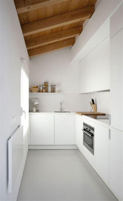 Einrichtung Kleiner Kuechekleine Kueche Aus Holz 3 by Home Interior Design Extended Kitchen In 2019 Kitchen