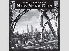 Historic New York City 2019 12 x 12 Inch Monthly Square