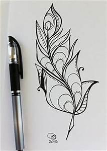Signification Plume Noire : tatouage mandala plume signification ~ Carolinahurricanesstore.com Idées de Décoration