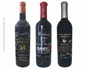 custom wine bottles engraved with signatures unique With customize wine bottles