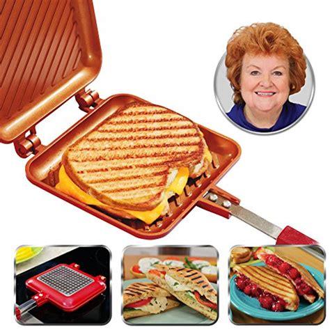 red copper brownie bonanza pan  bulbhead includes recipe guide xoroda