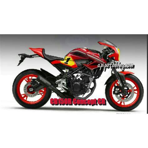 Photo Modifikasi Cb150r Ala Cbr250rr by Honda Cb150r Neo Cafe Racer Concept Livery Ago