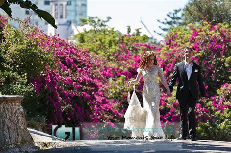 zoe roy wedding in gibraltar botanical gardens april