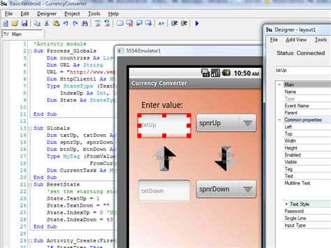android programming basic4android tutorials vb to android pc to phone