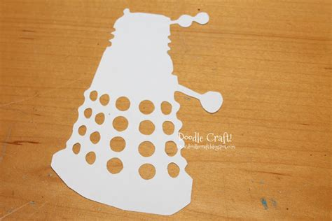Dalek Invasion With Rubber Stamps