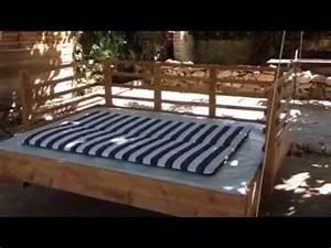 Balancelle De Jardin En Bois : balancelle bois youtube ~ Teatrodelosmanantiales.com Idées de Décoration