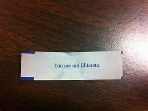 The 20 Funniest... Ridiculous Fortune Cookie Quotes
