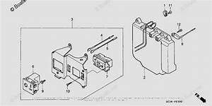 Honda Generator Parts Ex350 A Vin  Ecc