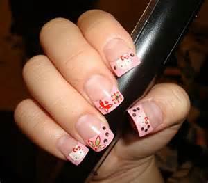 Cute simple hello kitty nail art designs stickers