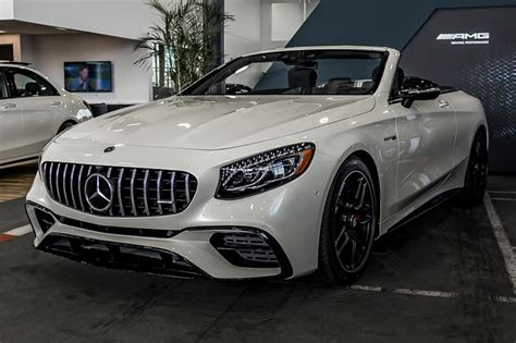 new 2018 mercedes s class s63 amg convertible in