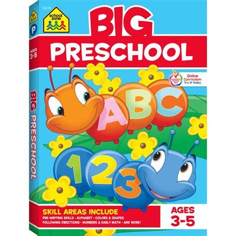 big preschool workbook gets ready for success