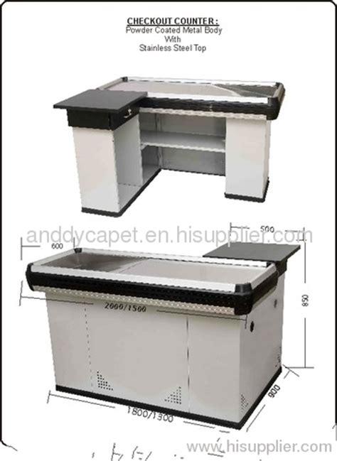 cash register desk for sale design checkout counter supermarket checkout counter for
