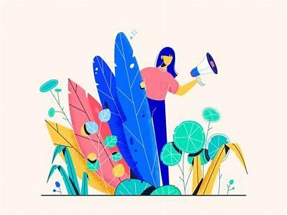 Illustration Dribbble Thumbnail Illustrations Renderforest Daniela Lan