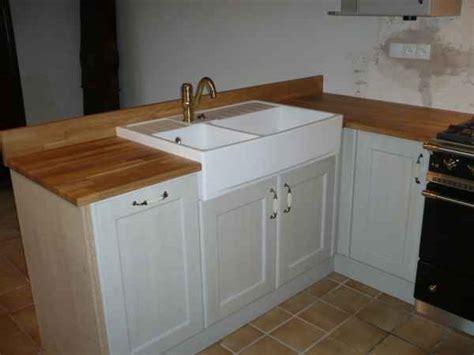 plan de cuisine bois plan de travail bois cuisine douillet