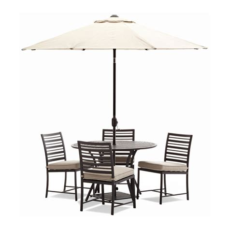 picnic table with umbrella hole furniture outdoor table bench set with cushions