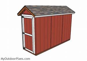 4x12 Shed Plans MyOutdoorPlans Free Woodworking Plans