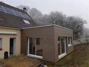 Agrandissement Maison : maison bois extension amiens beauvais mbe agrandissement ~ Nature-et-papiers.com Idées de Décoration