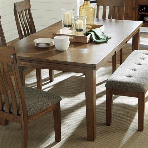 benchcraft flaybern   rectangular dining room