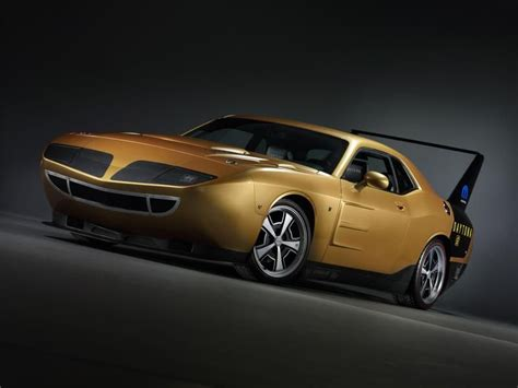 dodge challenger  superbird conversion kit dream