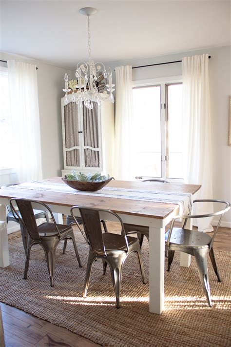 industrial farmhouse dining room home how to get the industrial farmhouse look Industrial Farmhouse Dining Room