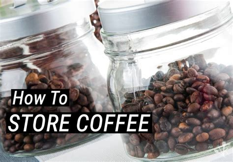 coffee beans way storing grounds ground container kitchen whether moving fuel gets lot