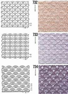Crochet Stitch Patterns Diagrams