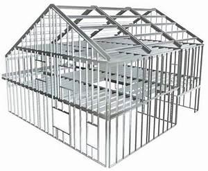Maison Structure Métallique : la maison ossature m tallique ~ Melissatoandfro.com Idées de Décoration