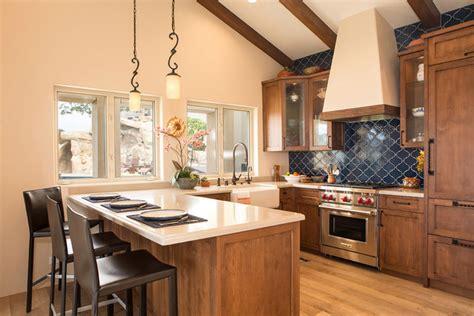 spanish cottage abode mediterranean kitchen los