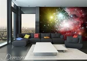 Papier Peint Espace : couleurs de l 39 espace papiers peints cosmos papiers peints demural ~ Preciouscoupons.com Idées de Décoration