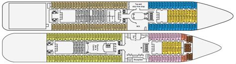 Pearl Cabin Plans by Pacific Pearl Cruise Ship Deck Plans