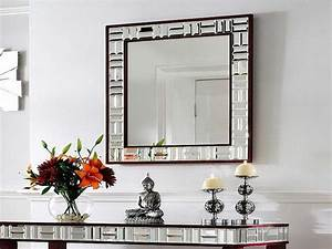 Mirror designs for living room some living room wall decor for Interior design hanging mirrors