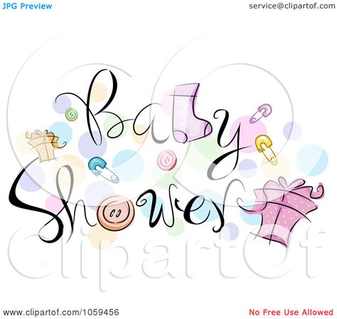 Baby Shower Clipart Clip Black And White Baby Shower Clipart Clipart Kid
