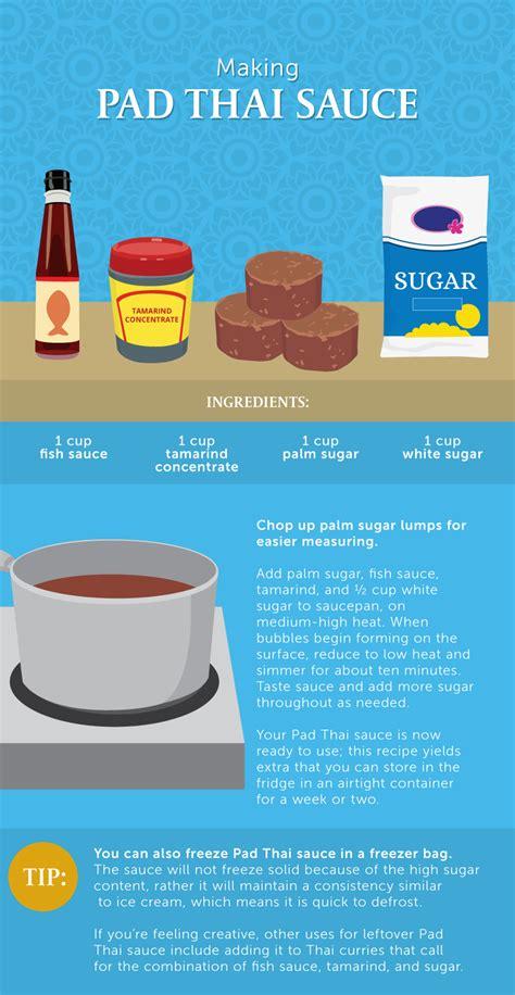 how to make pad thai sauce how to make perfect pad thai at home