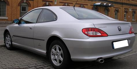 peugeot 406 coupe images ficheiro peugeot 406 coupe rear jpg wikip 233 dia a