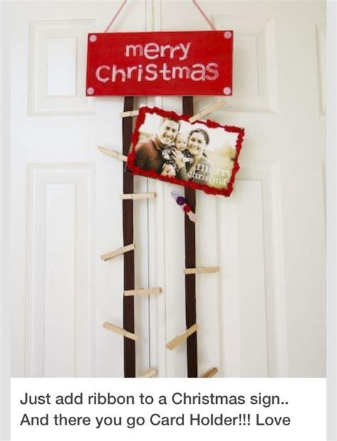 christmas card display holder diy christmas card holder trusper