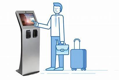 Self Kiosk Check Hotel Service Hotels Help